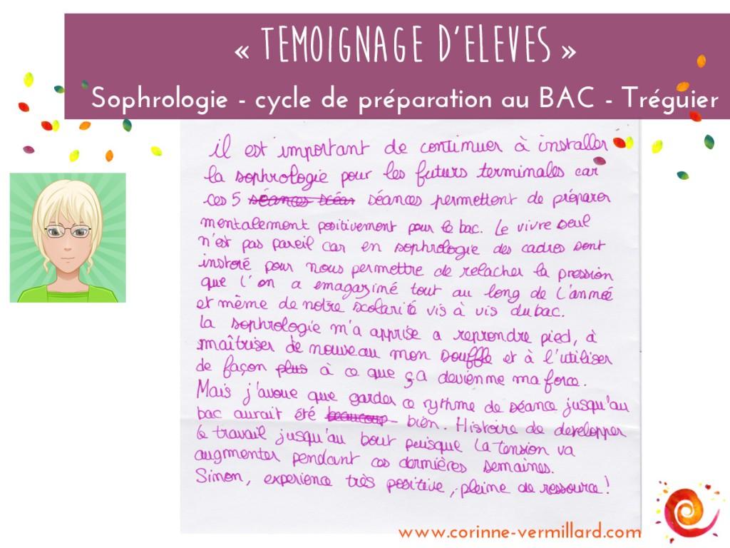 temoignage-2-preparation-gestion stress-sophrologie-treguier-savina-corinne-vermillard-sophrologue-BAC 2016