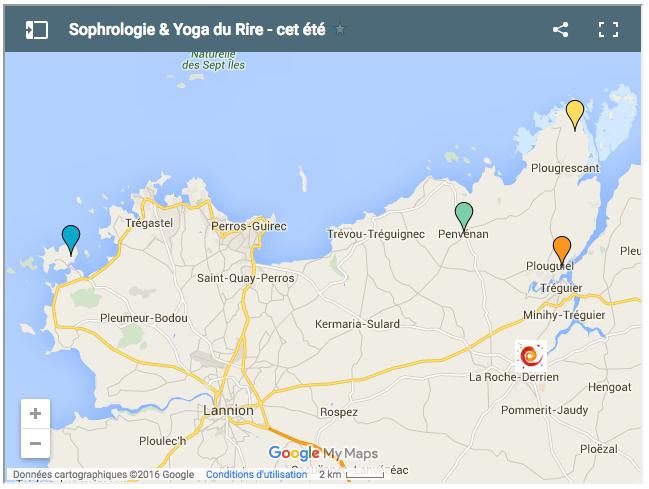 sophrologie et yoga du rire Corinne Vermillard Plougrescant-Ile grande-Penvenan-Treguier