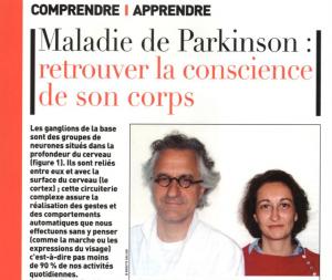PARKINSON et sophrologie- Christel NEUMAGER et Marc VERIN - Article-expérience CHU Rennes