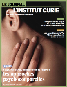 Revue-institut Curie-sophrlogie-approches psychocorporelles et cancers